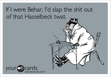 If I were Behar, I'd slap the shit out of that Hasselbeck twat.