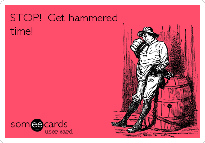 STOP!  Get hammered time!