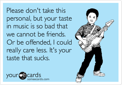 Please don't take this