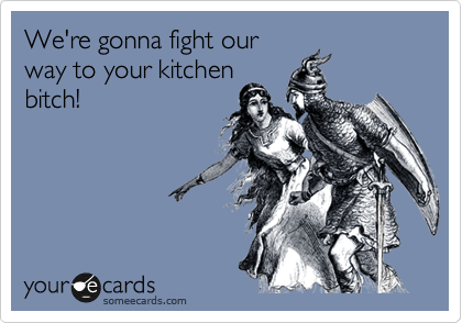 We're gonna fight our