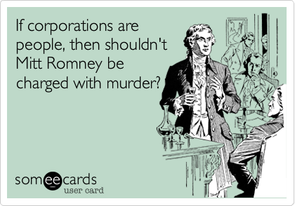 If corporations are 