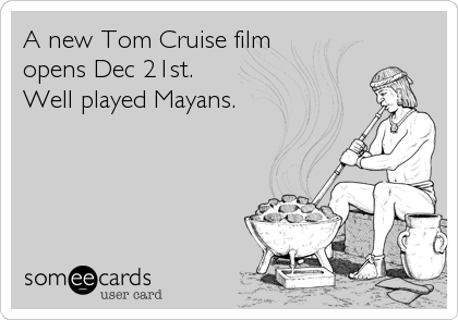 A new Tom Cruise film 