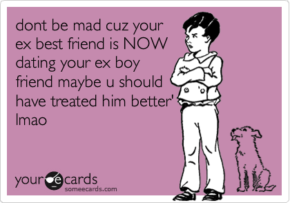Dating your ex best friend
