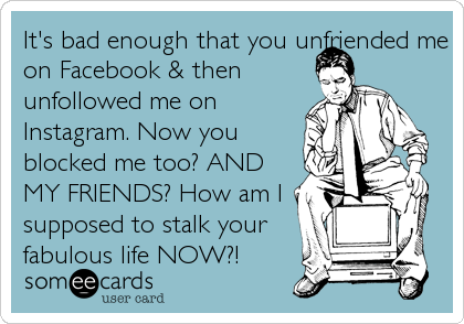 Facebook unfollow me How To
