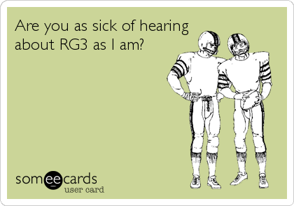 Are you as sick of hearing