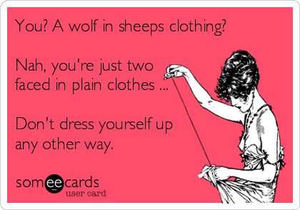 Image result for wolves in sheeps clothing