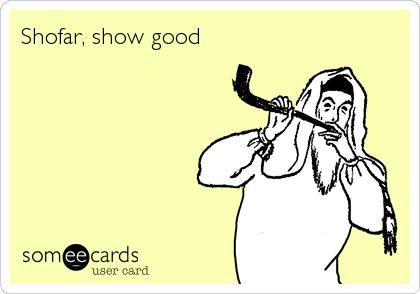 Shofar, show good