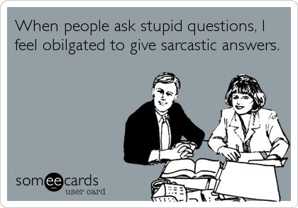 Stupid People At Work Ecards