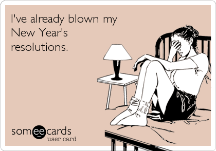 I've already blown my