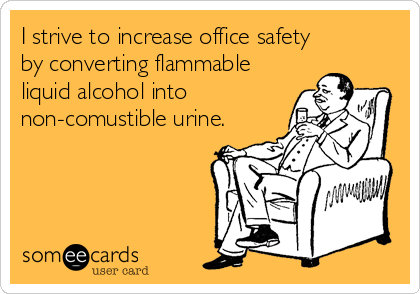 I strive to increase office safety 