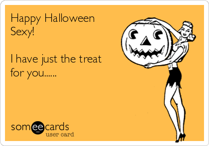 Halloween erotic e-cards