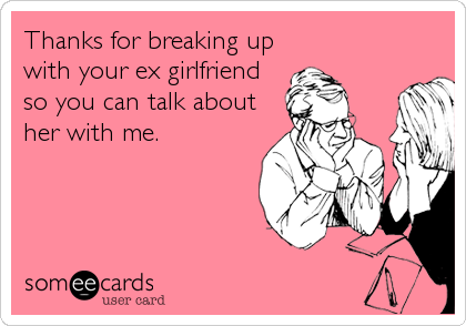 What To Talk About With Your Ex Girlfriend