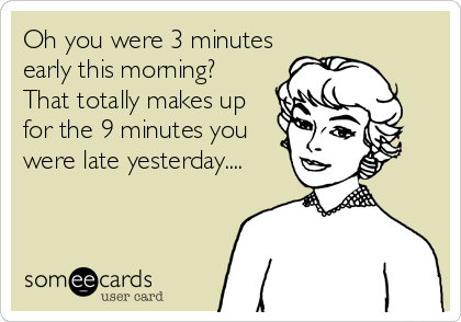 Oh you were 3 minutes