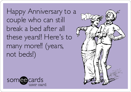 Happy Anniversary to a