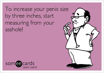 Ass hole size
