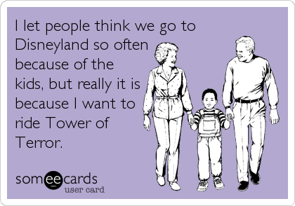I let people think we go to