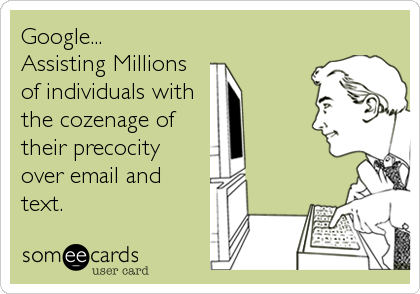Google...