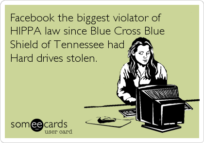 Facebook the biggest violator of