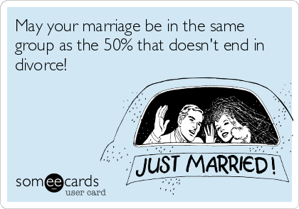 Do 50 of marriages end in divorce