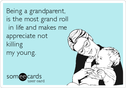 Being a grandparent, 