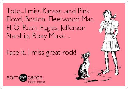 Totoi Miss Kansasd Pink Floyd Boston Fleetwood Mac Elo