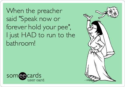 Hold pee forever