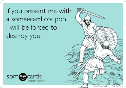 If you present me with
