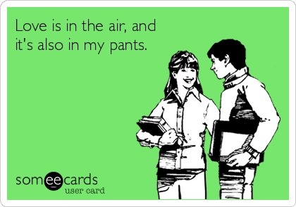 Love is in the air, and 