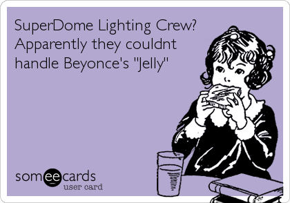 SuperDome Lighting Crew? 