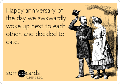 Happy anniversary dating