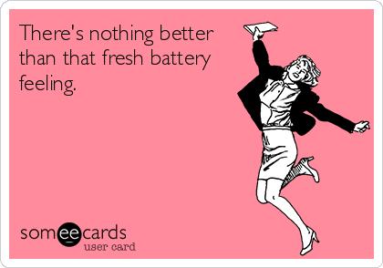 Fresh battery