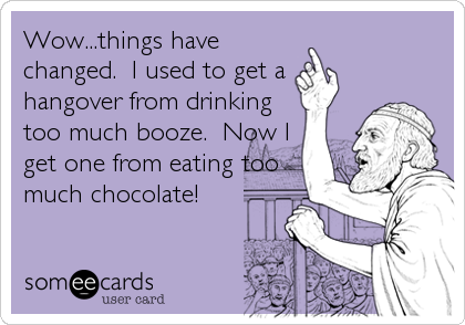 Wow...things have