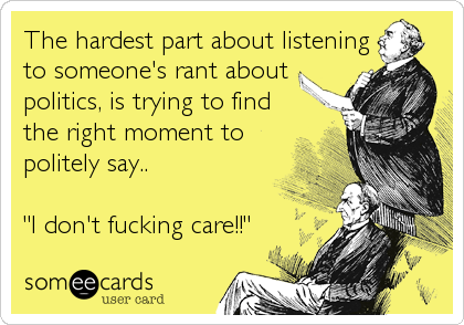 The hardest part about listening 