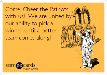 Come, Cheer the Patriots