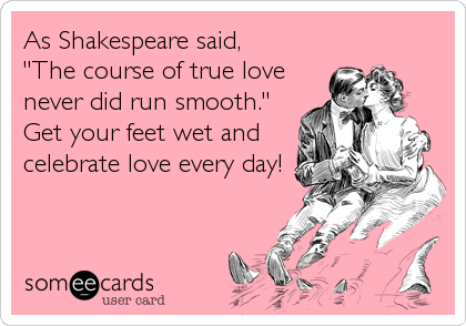 the course of true love shakespeare