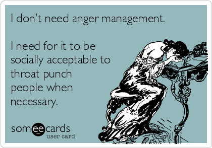 do i need anger management help