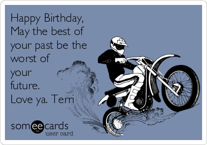 Todays News Entertainment Video Ecards and more at Someecards – Motocross Birthday Cards
