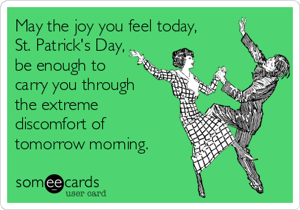 May the joy you feel today,