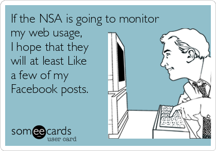 If the NSA is going to monitor