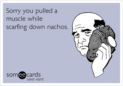 Sorry you pulled a 