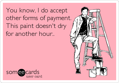 You know, I do accept