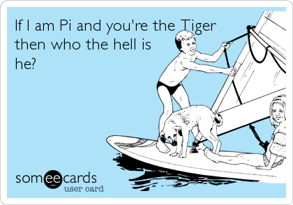If I am Pi and you're the Tiger then who the hell is he?