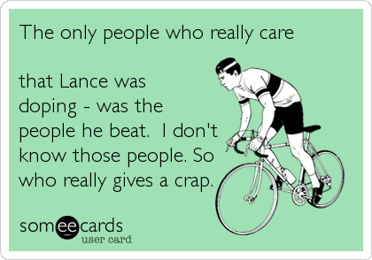 The only people who really care