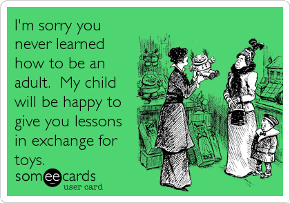 Sorry ecard adult