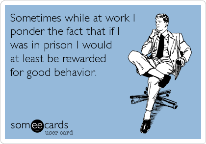 Sometimes while at work I