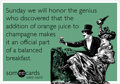 Sunday we will honor the genius
