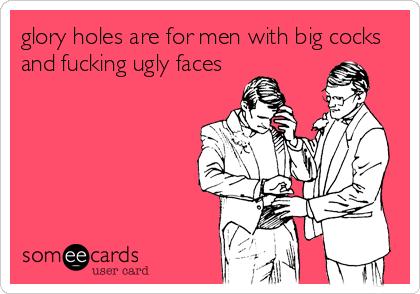 Men Using Glory Holes