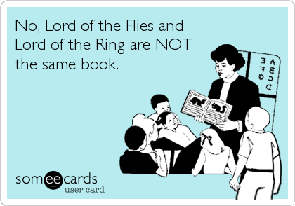 Lord of the flies help?