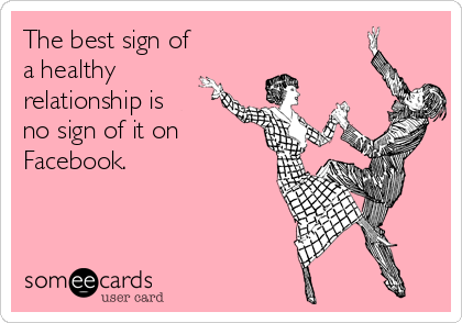 The best sign of a healthy relationship...