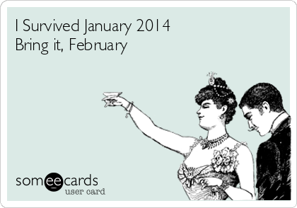 I Survived January 2014 Bring it, February
